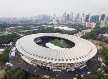 Aquatic Stadium Gelora Bung Karno, Indonesia