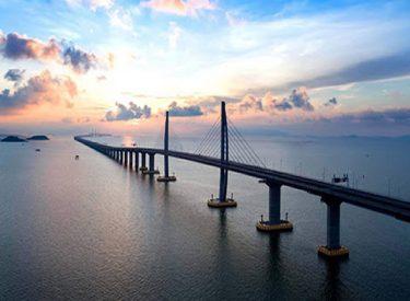 Hong Kong-Zhuhai-Macau Bridge, China
